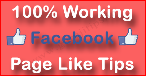 Facebook Page Like Tips