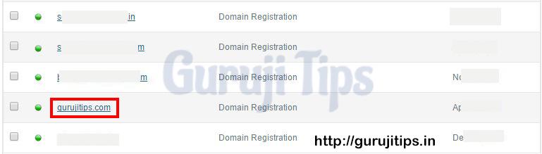 Domain List