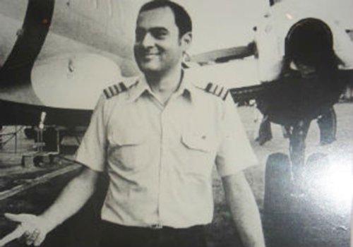 Pilot Rajiv Gandhi