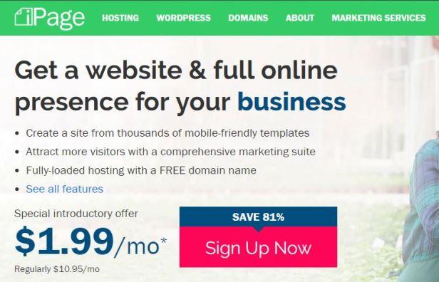 ipage domain saler