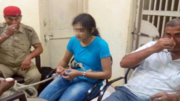 Police arrest girl
