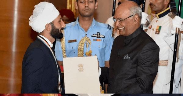 Sardar Singh Rajiv Gandhi khel ratna award winner