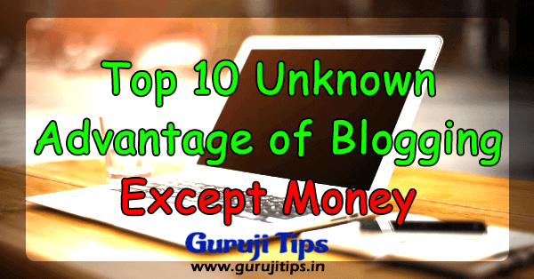 top 10 blogging benefit