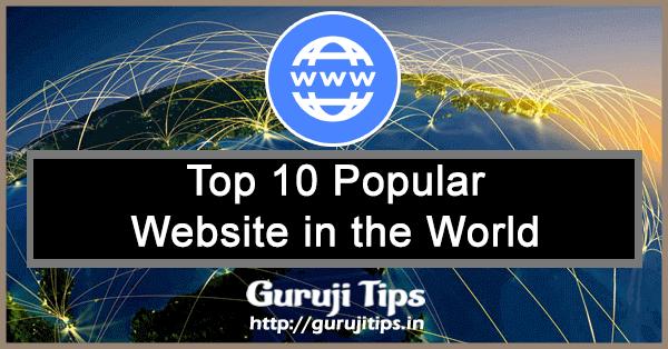 top 10 website in world