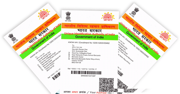 New Aadhar Card Apply